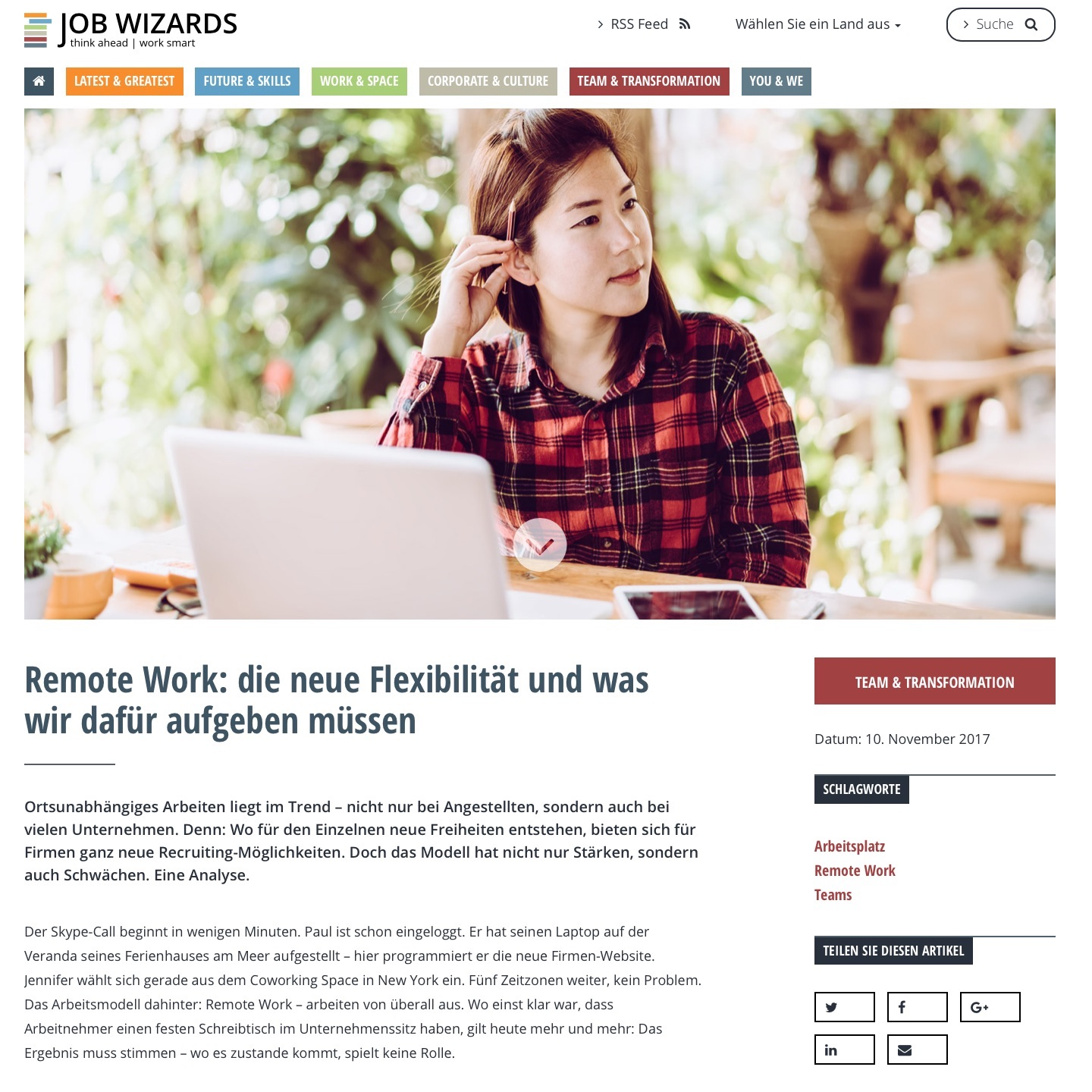 Job Wizards Remote Work