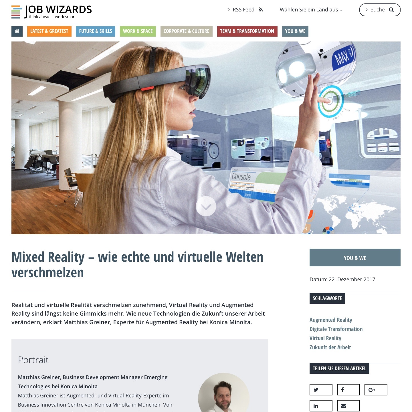 Job Wizards Mixed Reality